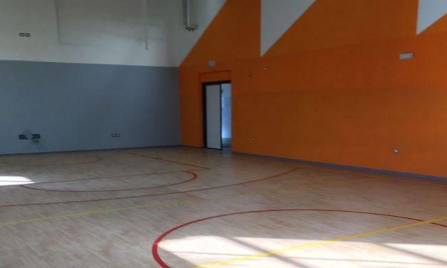 A Tortona quasi ultimati i lavori di costruzione della nuova palestra per le scuole del rione Oasi