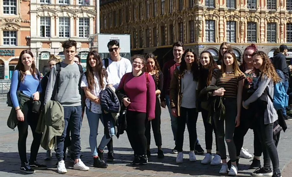 Un successo lo scambio culturale degli studenti novesi in Francia