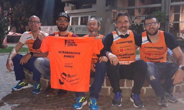 """Domenica a Diano Marina passano gli atleti dianesi della Ultra Marathon nel segno di Michael Mistri e """"Il cuore di Martina"""". Sosteniamoli"""