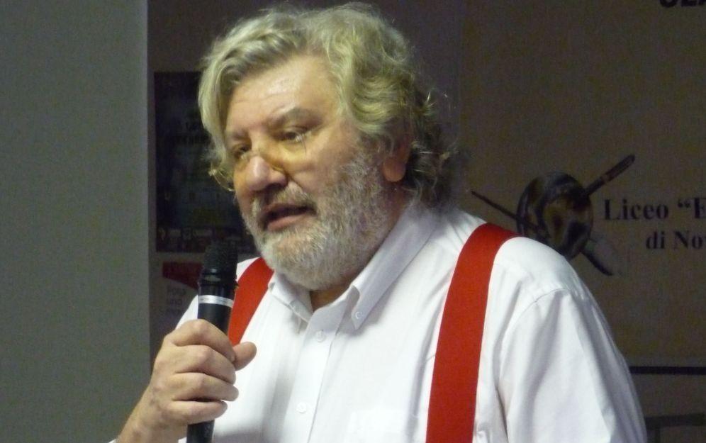 Il prof. Nino Znaghi' l'11 aprile al museo dei campionissimi di Novi invitato dal liceo Amaldi