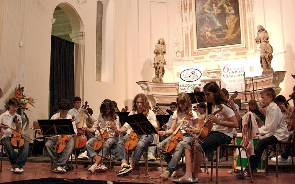 A Cervo per tre giorni arrivano 250 musicisti per la rassegna dei Giovani Musicisti. Concerti a go-go