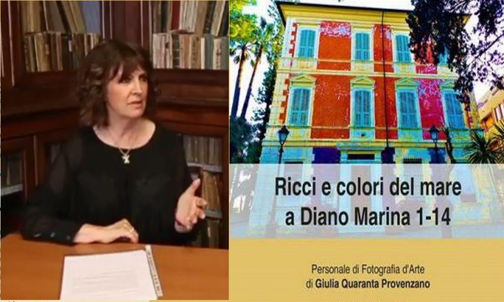 A Diano Marina si inaugura la mostra fotografica della poetessa Giulia Quaranta Provenzano. Aperta fino al 26 maggio