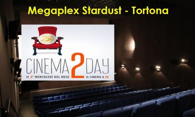 Mercoledì a Tortona si va al Cinema con soli due euro a spettacolo e dal pomeriggio