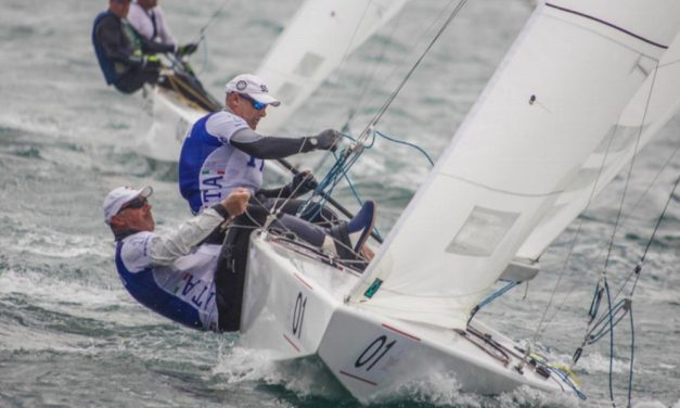 Il dianese Diego Negri conquista la medaglia di bronzo ai campionati europei di vela