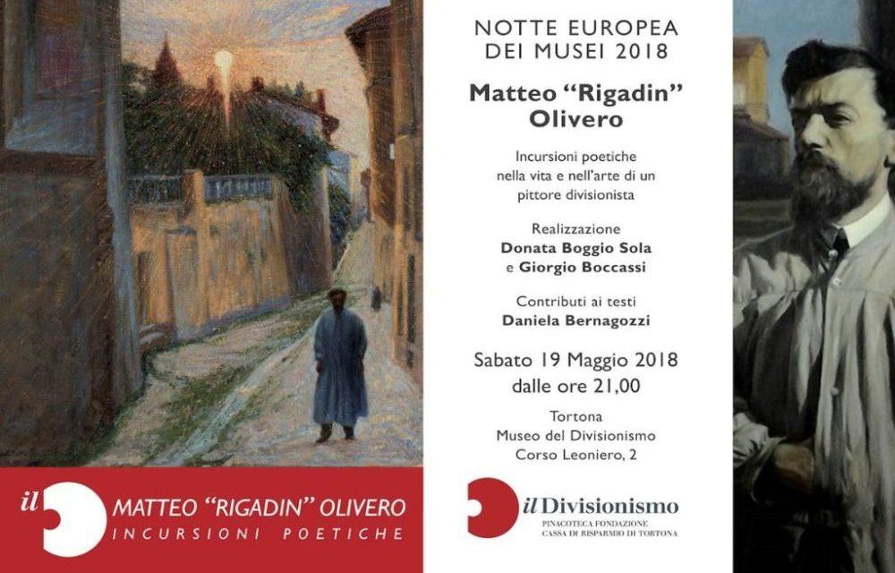 """Sabato a Tortona """"Il Divisionismo"""" aderisce alla Notte europea dei musei con delle incursioni poetiche"""