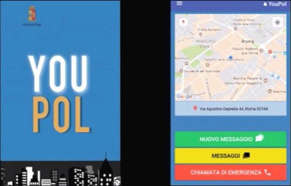 Una app consente di chiamare la Polizia di Alessandria in caso di bisogno o mandare segnalazioni anonime