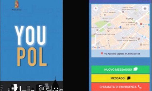"""In caso di aiuto potete anche usare la app """"Youpol"""""""