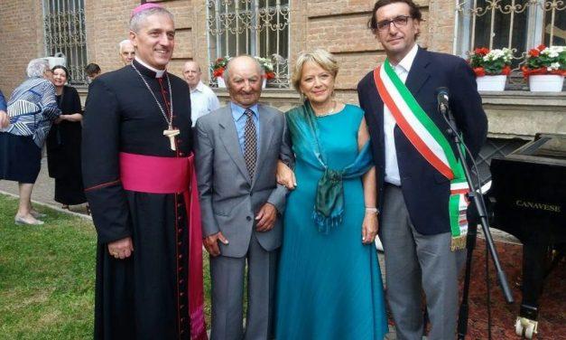 Pietro Carbone di Pontecurone era scampato ai campi di concentramento, adesso è stato premiato dal Prefetto