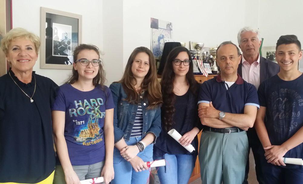 """Clarissa Cascardo e Riccardo Massone del Liceo """"Amaldi"""" di Novi Ligure vincono il concorso di lettura interpretativa"""