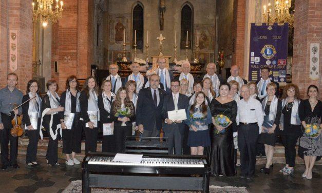 Grande successo per il concerto di beneficenza del Lions a Pontecurone diretto da Gian Maria Franzin