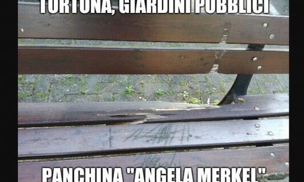La cronaca degli orrori: A Tortona è arrivata la panchina Tedesca