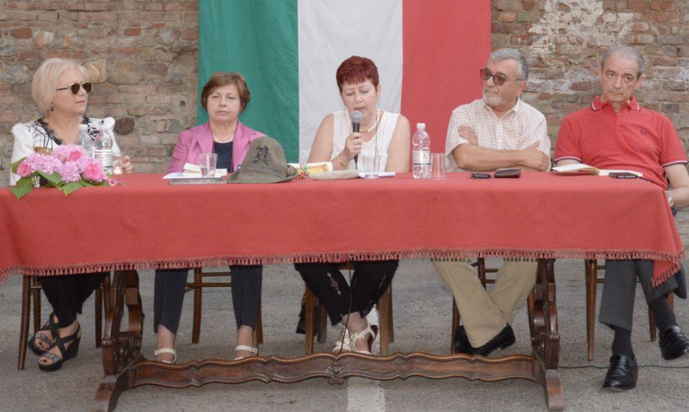 Cinque scrittori per il 6° quaderno della Biblioteca di Pontecurone. Le immagini di una festa
