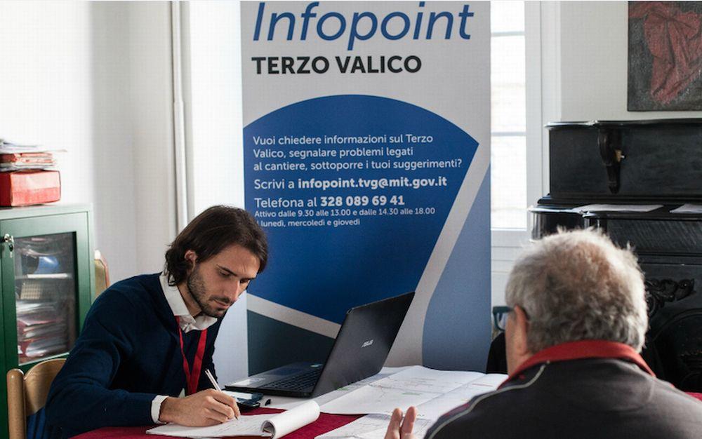 C'è L'Infopoint Terzo Valico, in ascolto di cittadini e amministrazioni