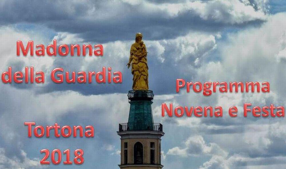 Già pronto il programma della Festa della Madonna della Guardia a Tortona