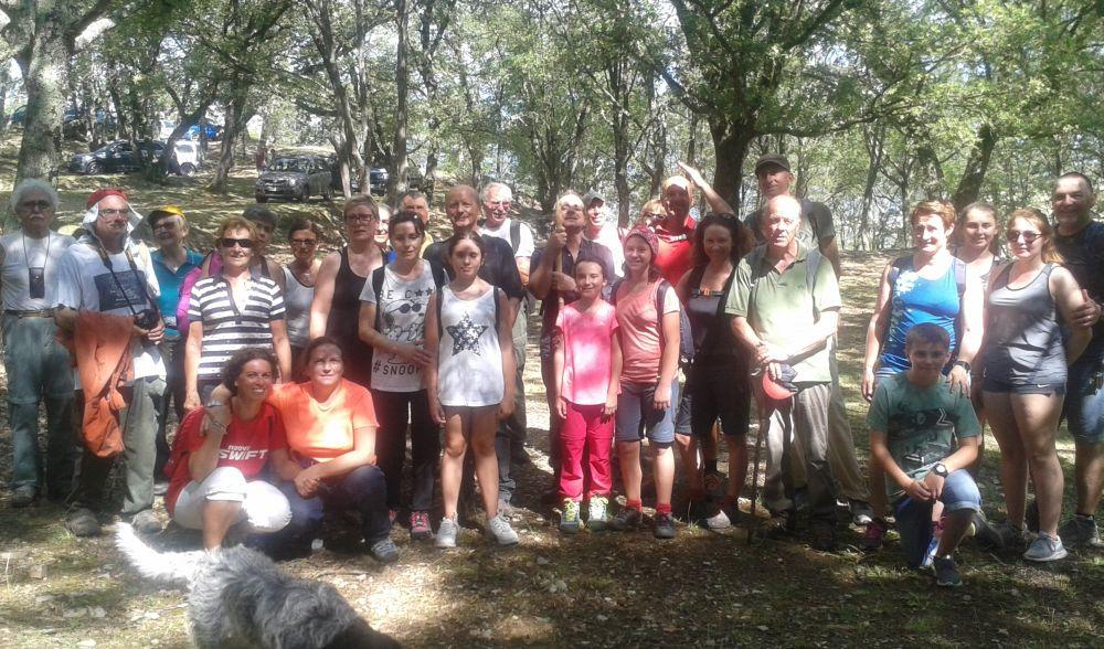 Un successo la Passeggiata da  Pontedassio al Santuario della Maddalena