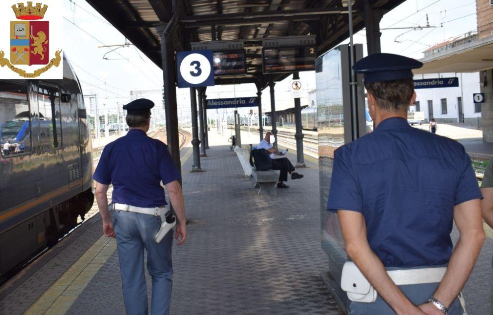 La disavventura di una bimba di 7 anni sola sul treno salvata dalla Polfer di Alessandria