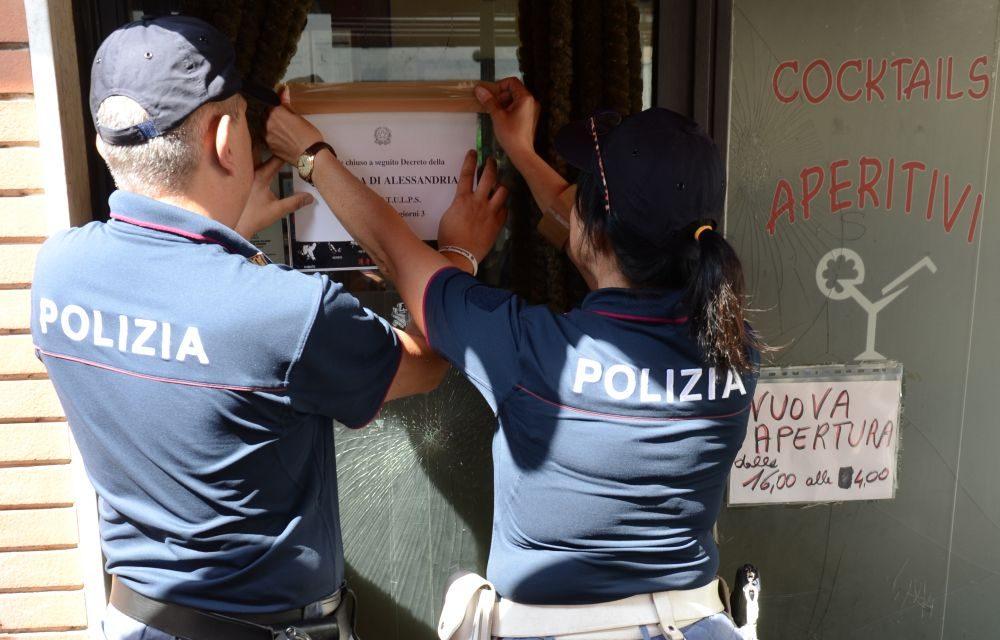 """La Polizia di Stato chiude per 7 giorni la pizzeria """"Stella Marina"""" di Ventimiglia"""