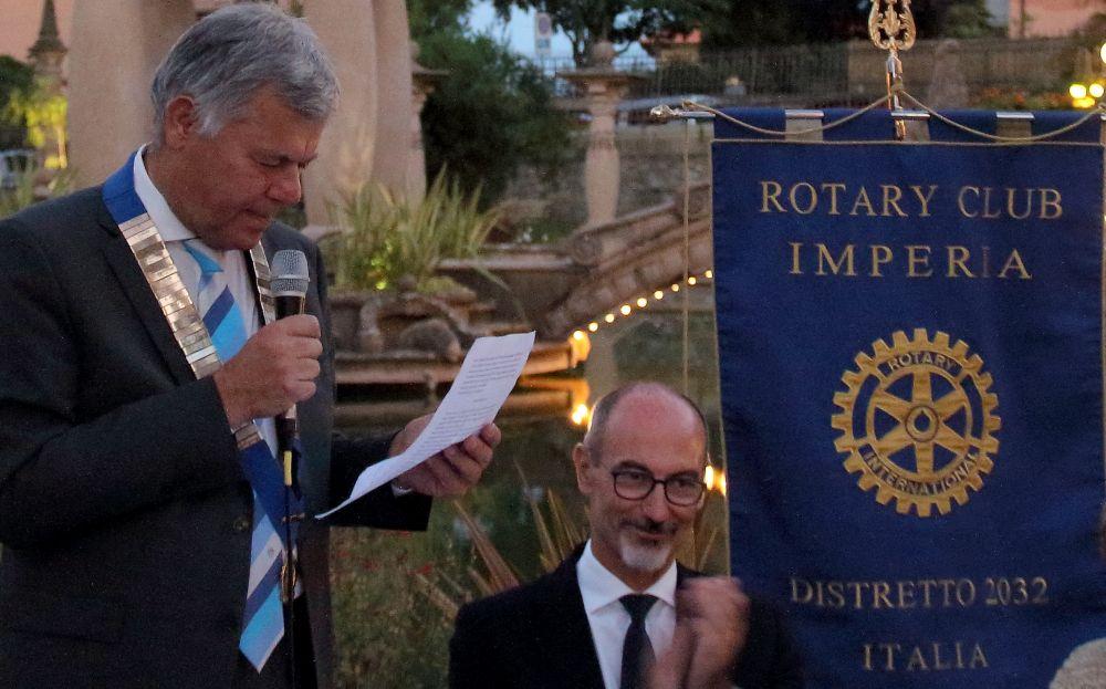 Nuovo Consiglio direttivo al Rotary di Imperia