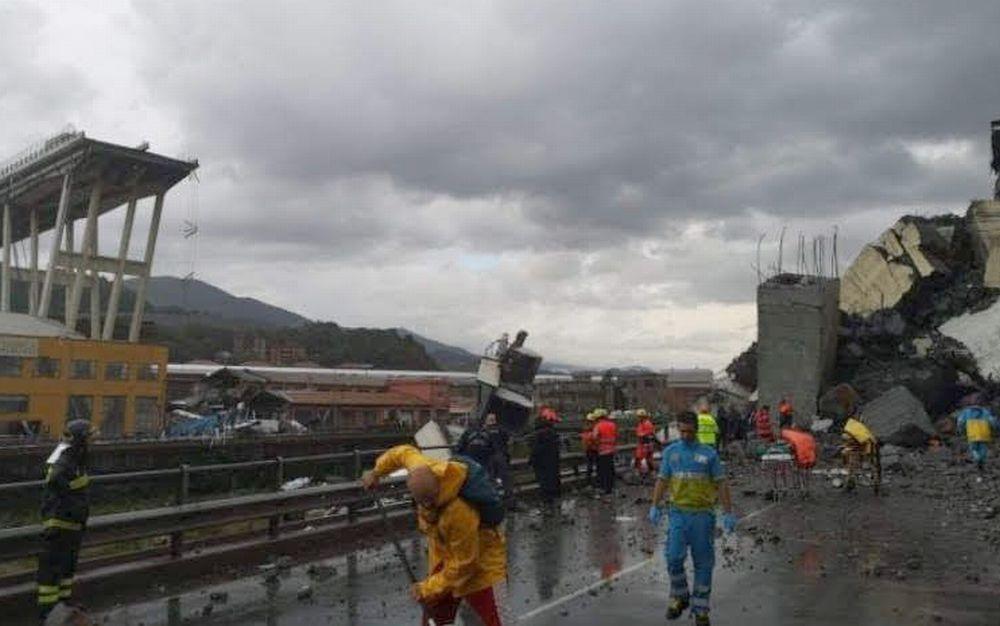 Reportage di un volontario della Misericordia di Tortona a Genova ad aiutare gli sfollati