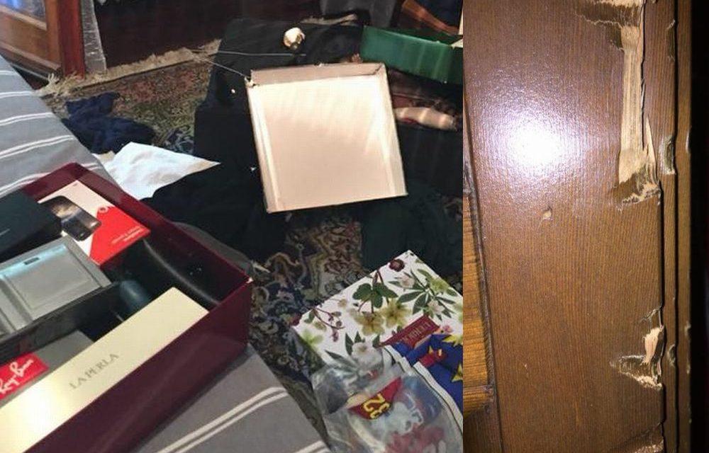 Le immagini della casa devastata dopo un furto a Pontecurone: si sono accaniti perché c'erano pochi spiccioli