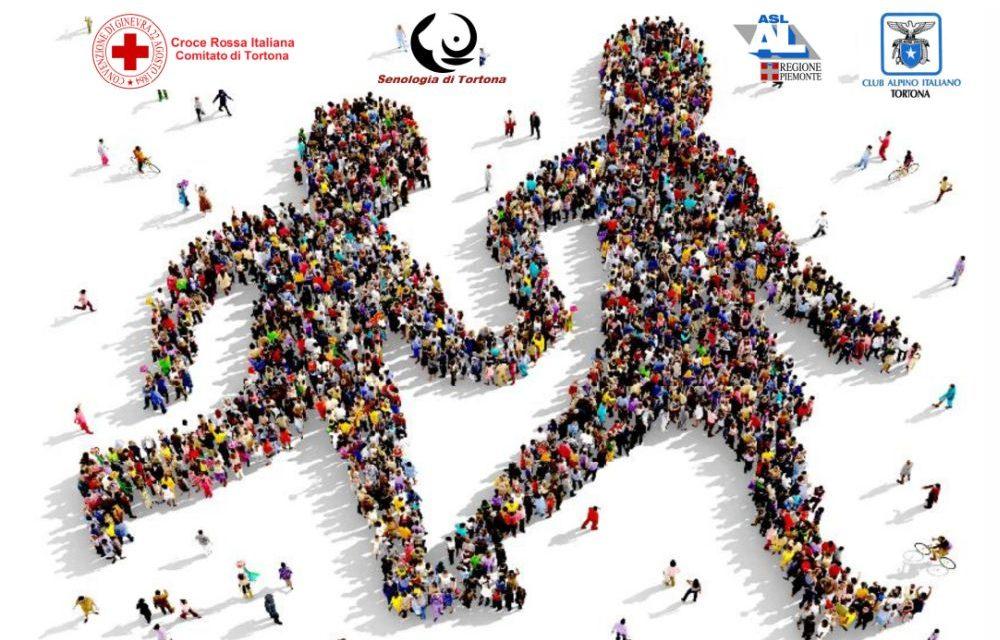 """Sabato a Tortona si cammina gratis tutti insieme per farci del bene con la """"Camminata della salute"""". Partecipate!"""