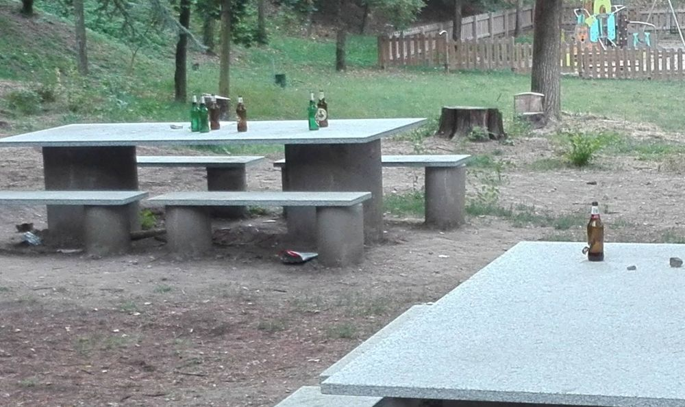 La maleducazione dei tortonesi sul parco del Castello