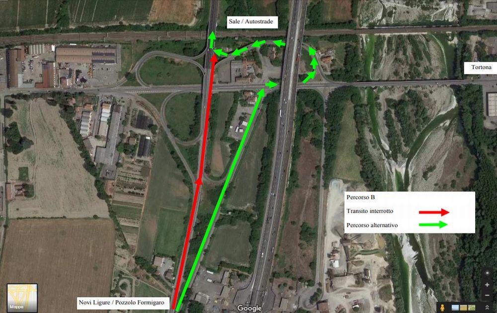 A Tortona ci aspettano due mesi di inevitabile caos con centinaia di camion che attraverseranno la statale 10