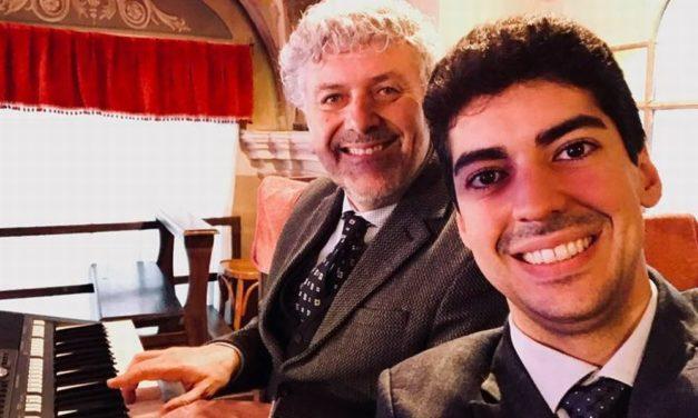 I tortonesi Emanuele Semino ed Enzo Consogno in concerto a Pavia