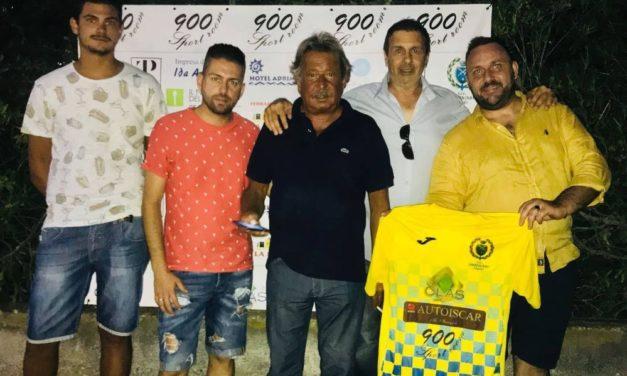 Il dianese Eros Pellegrino del Bar 900, Presidente Onorario e Direttore Marketing del San Bartolomeo calcio