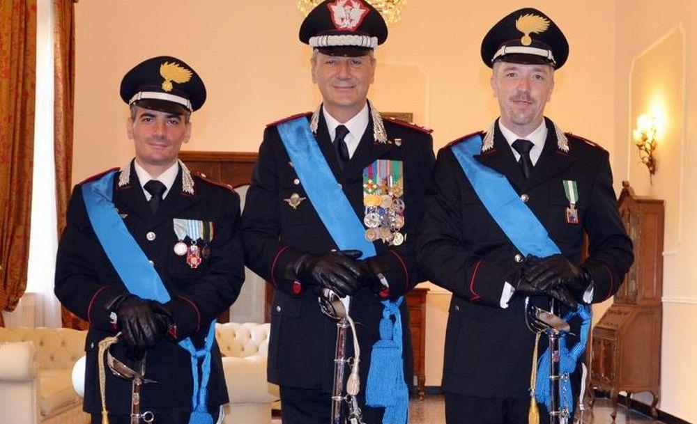 Nuovi ufficiali nei carabinieri di Imperia: sono Diego Bonavera e Giovanni Forte