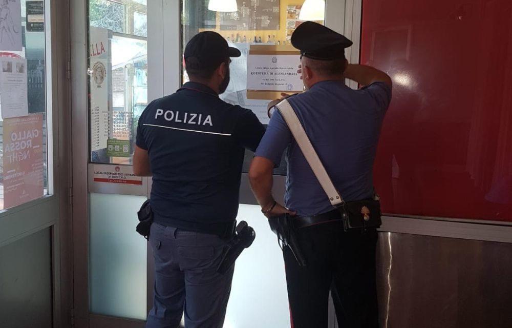 Sospensione della gestione dell'attività per un noto locale di Serravalle Scrivia.