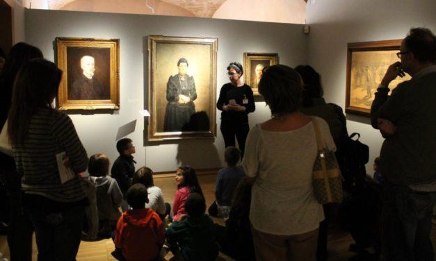 Tante famiglie al Museo del Divisionismo di Tortona
