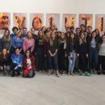 """Gli studenti del Liceo Peano di Tortona affinano la cultura visitando la mostra """"Il Sesto Stato"""""""