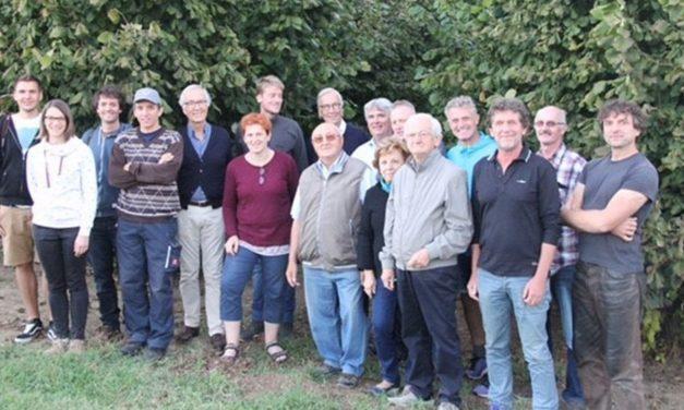 Visita in Monferrato di corilicoltori e tecnici tedeschi provenienti dalla Baviera