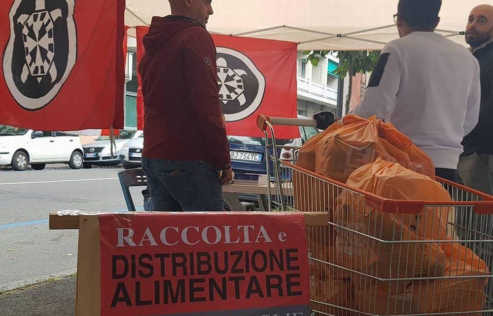 Tortonesi contro: gli antifascisti manifestano davanti alla Prefettura, Azione Tortona raccoglie alimentari per l famiglie in difficoltà