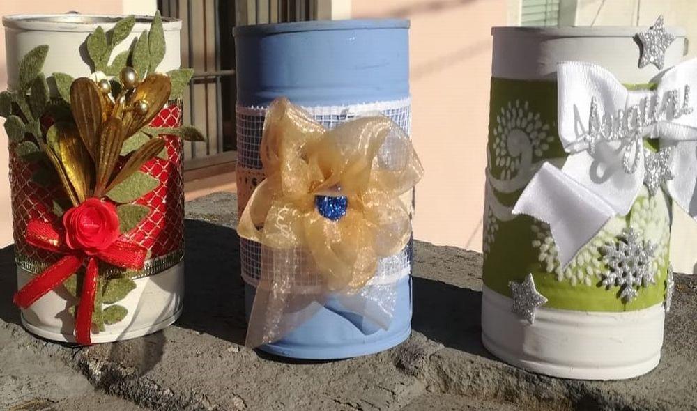A Tortona i laboratori di Natale, col materiale riciclato