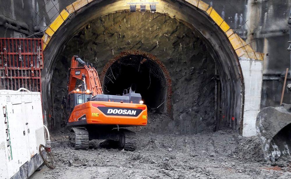 Tra Gavi e Serravalle avviati gli scavi di allargamento di una galleria per il Terzo Valico