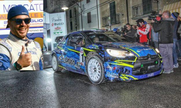 Il salese Luca Beltrame campione del mondo di rally insieme ad Enrico Brazzoli di Saluzzo