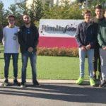 I giovani tortonesi in Visita alla piattaforma freschi e freschissimi Coop Nord-Ovest