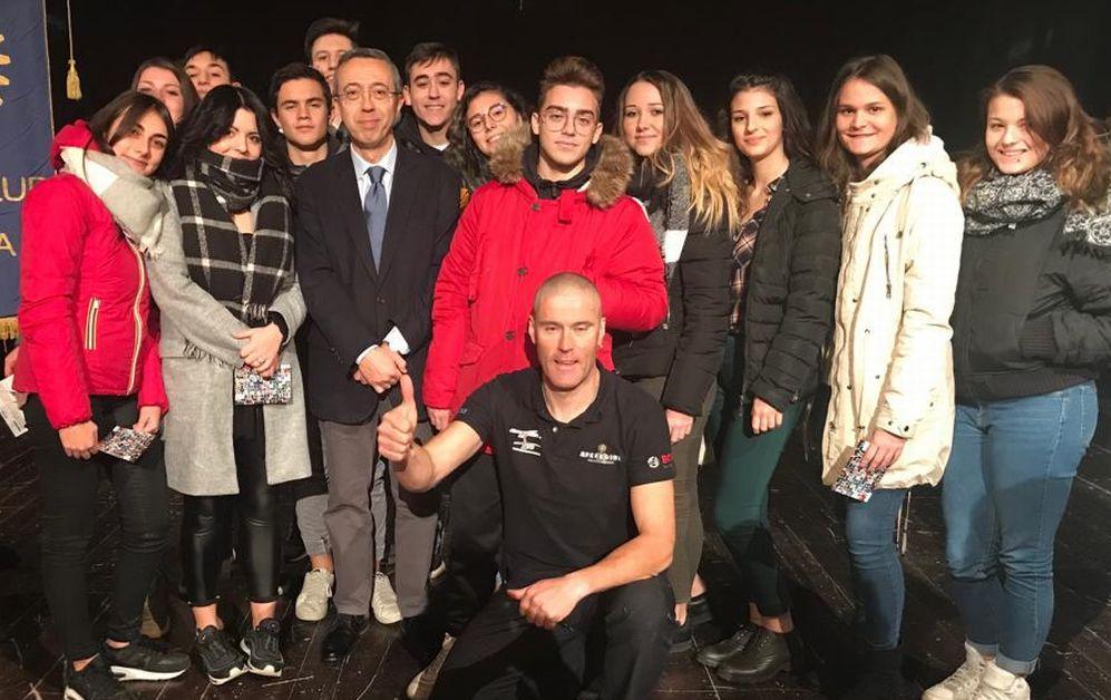 Gli studenti del Marconi di Tortona si allenano per andare incontro al futuro
