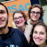 I ragazzi di Tortona all'evento nazionale del Msac