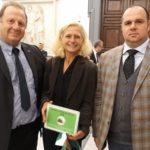 Premiata a Roma l'allevatrice Paola Finetti di Volpedo