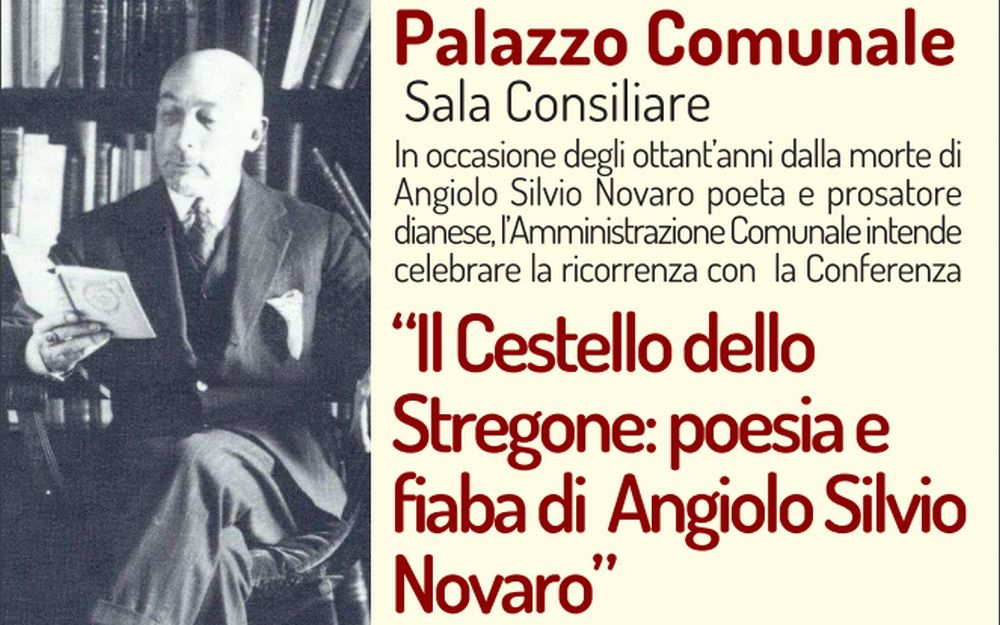 Giovedì Diano Marina ricorda il poeta Angiolo Silvio Novaro