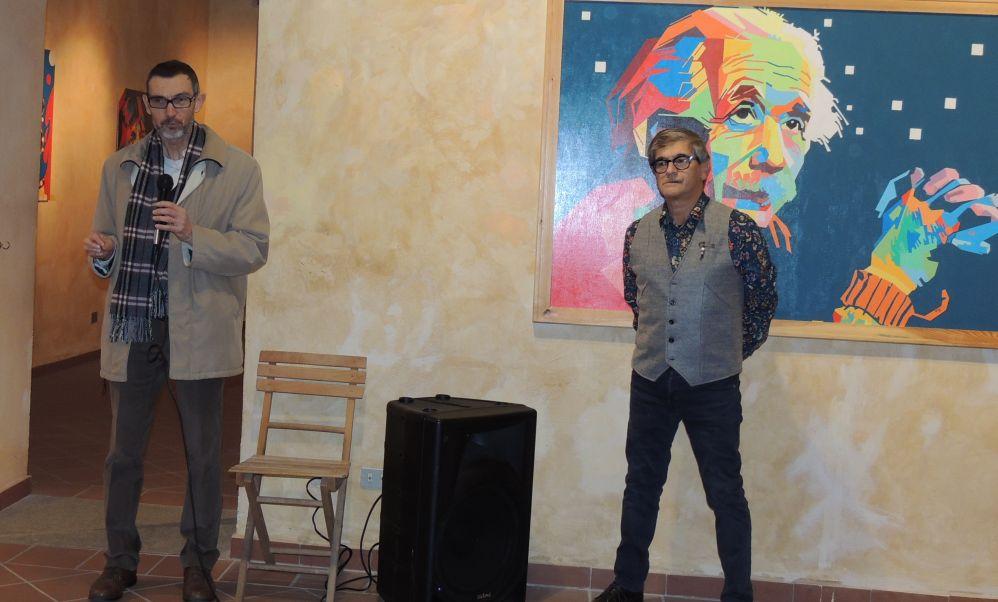 Inaugurata a Tortona una mostra di ritratti neo pop assolutamente da vedere