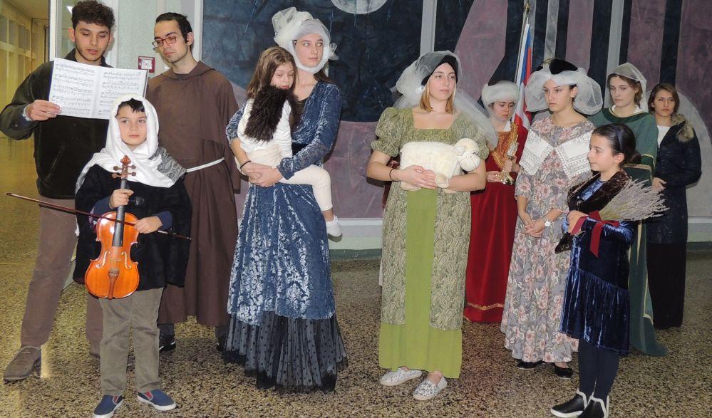 I giovani del Liceo Peano di Tortona hanno dato vita ai personaggi di Pellizza e Saccaggi. Le immagini