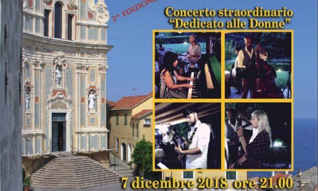 Venerdì a Cervo un concerto di musica swing dedicato alle donne
