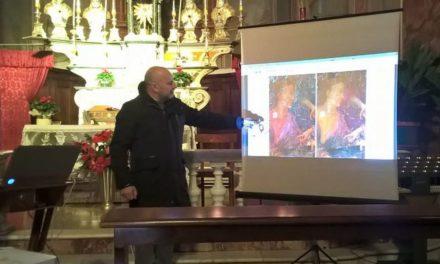 """A Gremiasco inaugurati il  coro ligneo e il dipinto """"Sacra Famiglia e Santi"""""""