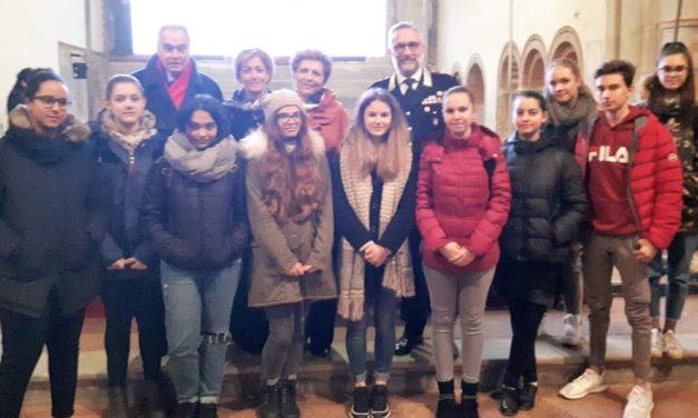 All'Abbazia di Rivalta un summit degli studenti di Tortona