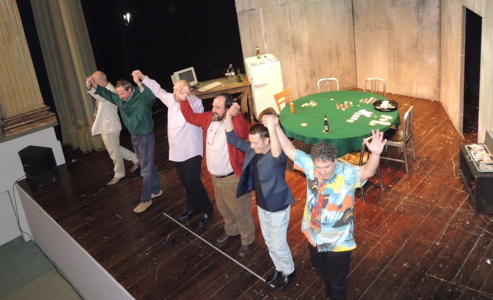 """Grande successo per """"Poker"""" quarto spettacolo della stagione di Prosa a Tortona. Le immagini"""