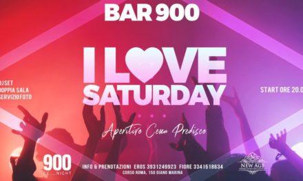 Sarà un sabato sera speciale quello in programma al bar 900 di Diano Marina